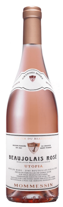 Mommessin Beaujolais Rosé Utopia 2017