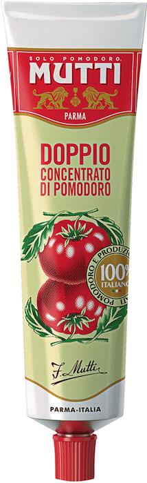 Tube de double concentré de tomates Mutti