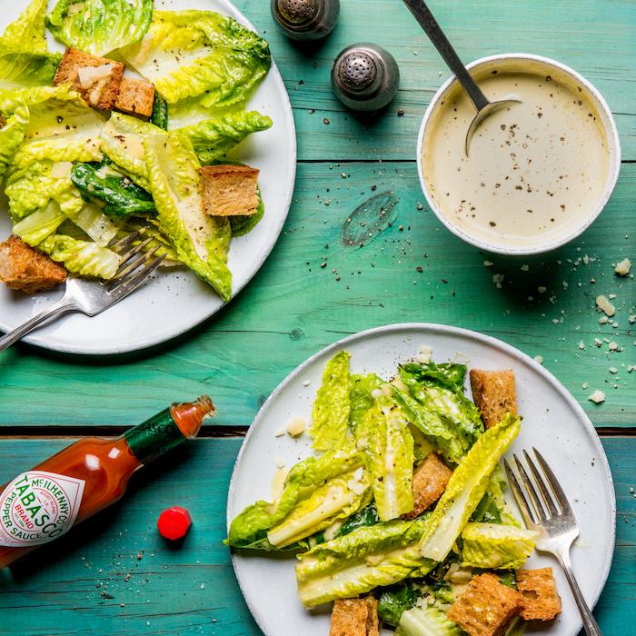 recette de salade Caesar