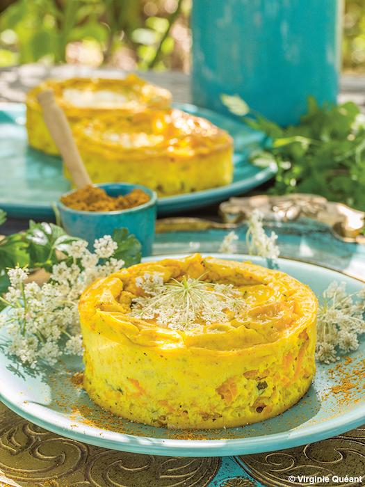 recette de cheesecake aux carottes