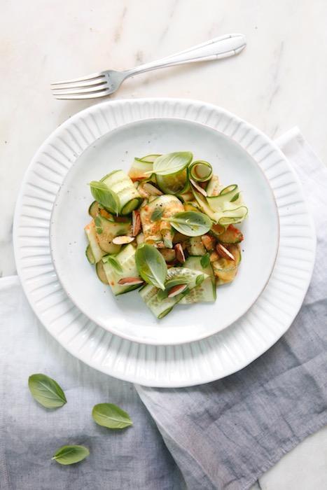 recette de salade de concombre