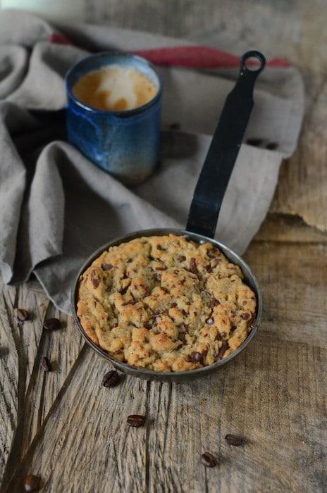 recette de cookie à la poêle