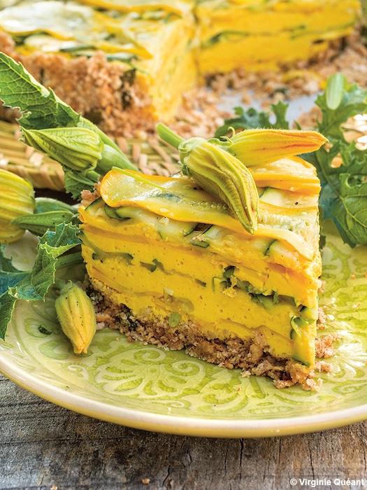 recette de cheesecake aux courgettes