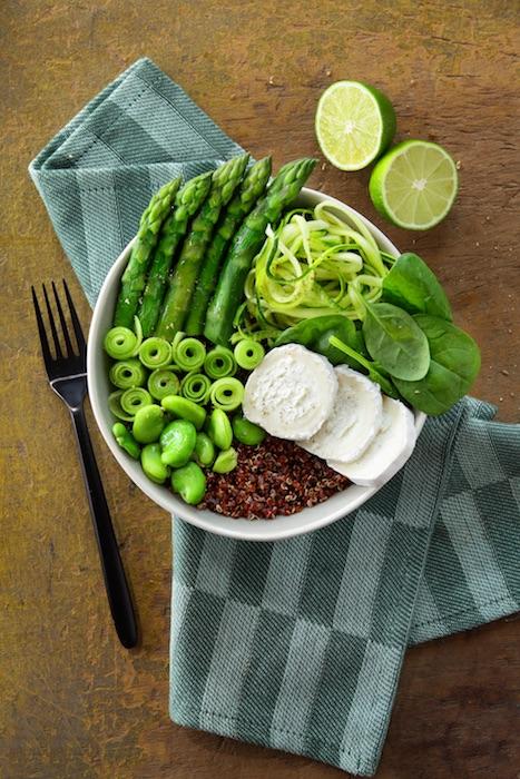 recette de green bowl