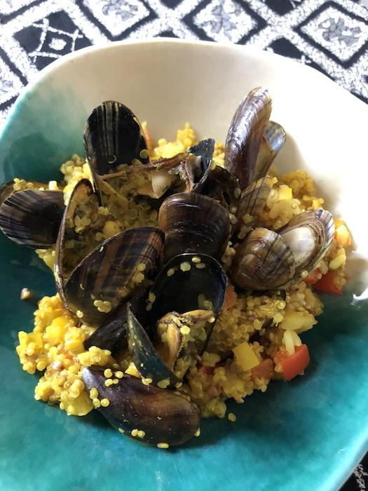 Moules au curry coco Omnicuiseur Vitalité