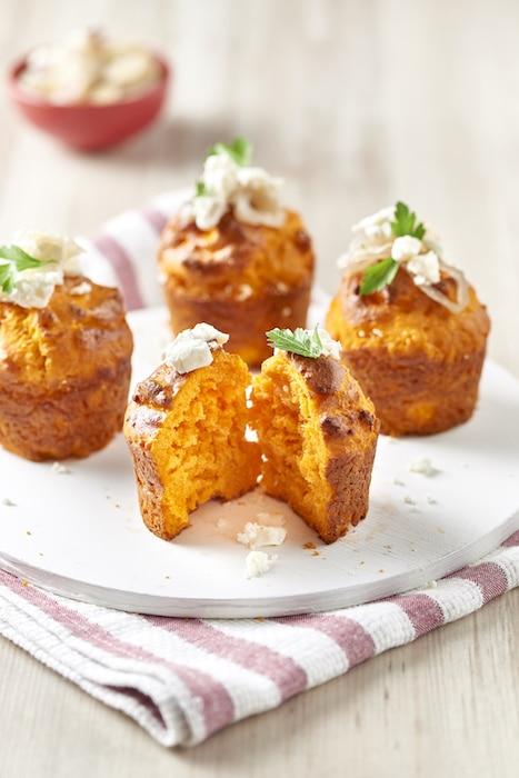 recette de muffins aux tomates
