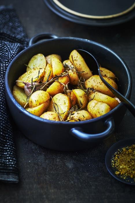 recette de pommes de terre rôties
