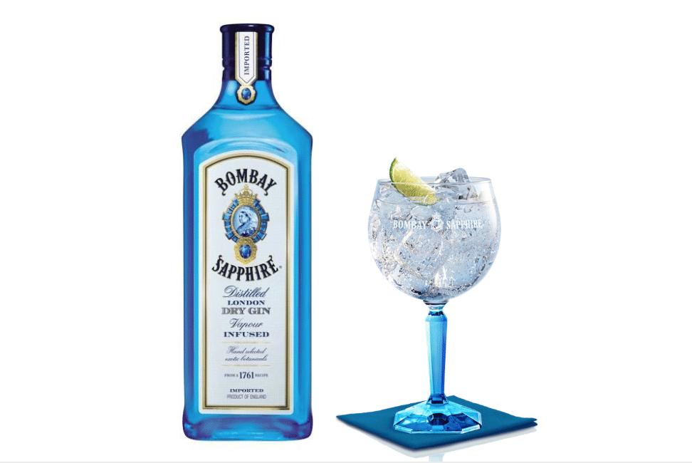 Bombay Sapphire et Tonic