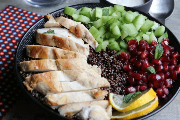 Bowl au poulet