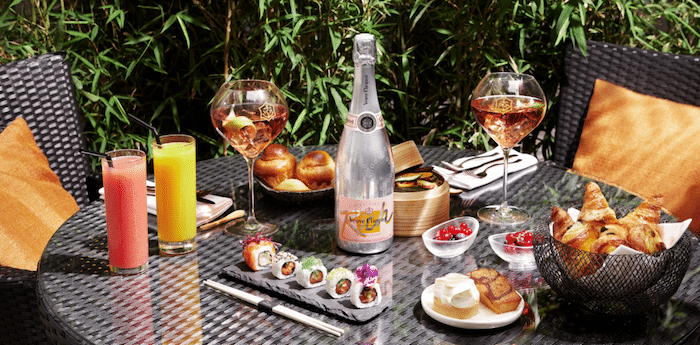 brunch Veuve Clicquot au Buddha-Bar