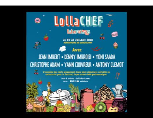 Lolla Chef au Lollapalooza