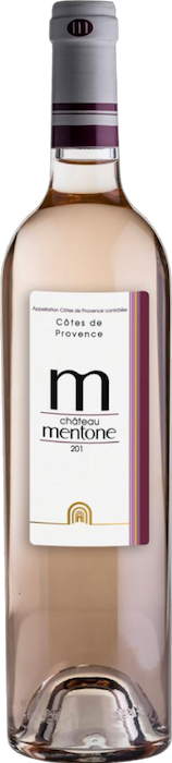 Mentone Rosé 2017 Côtes de provence