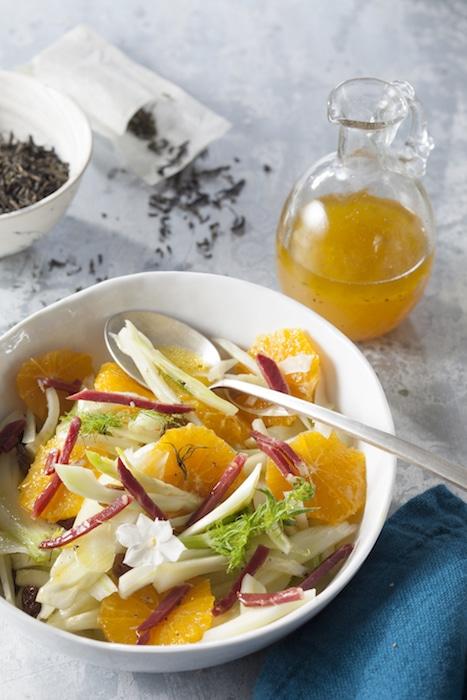 recette de salade de fenouil et d'orange