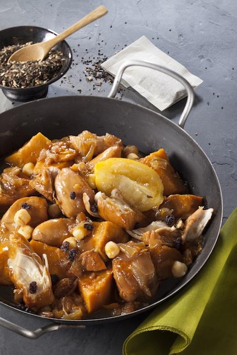 recette de tajine de poulet