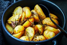 Pommes de terre primeurs rôties