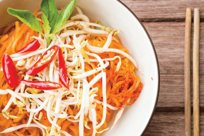 Patate douce façon thaï