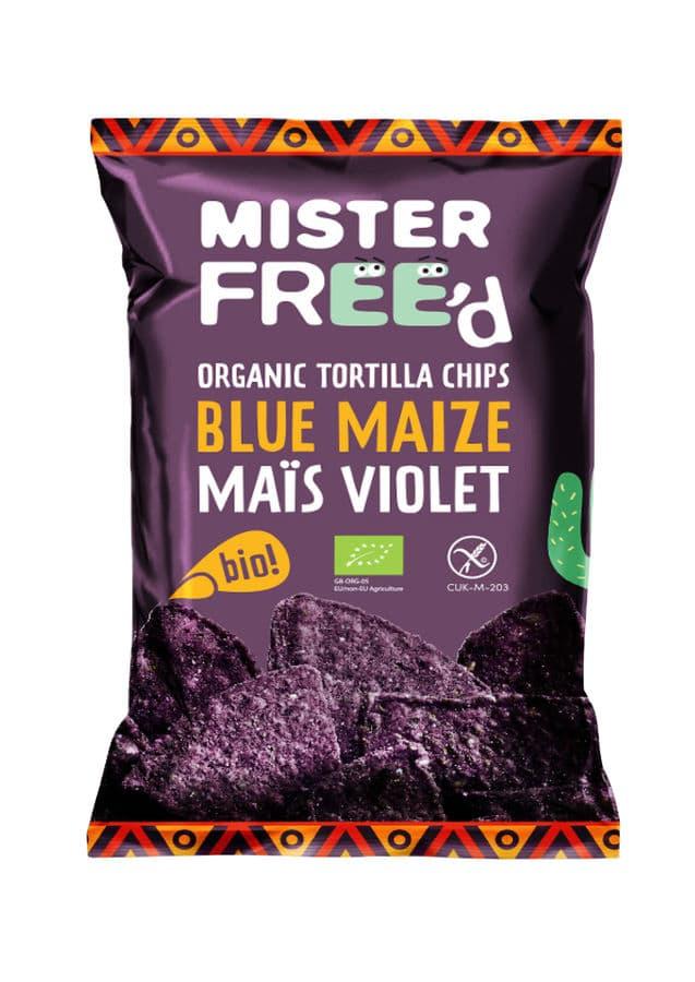tortilla de maïs violet