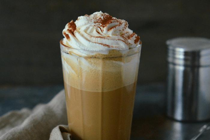Milkshake au café