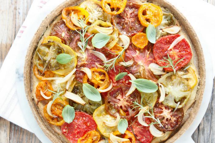 Tomato-tarte