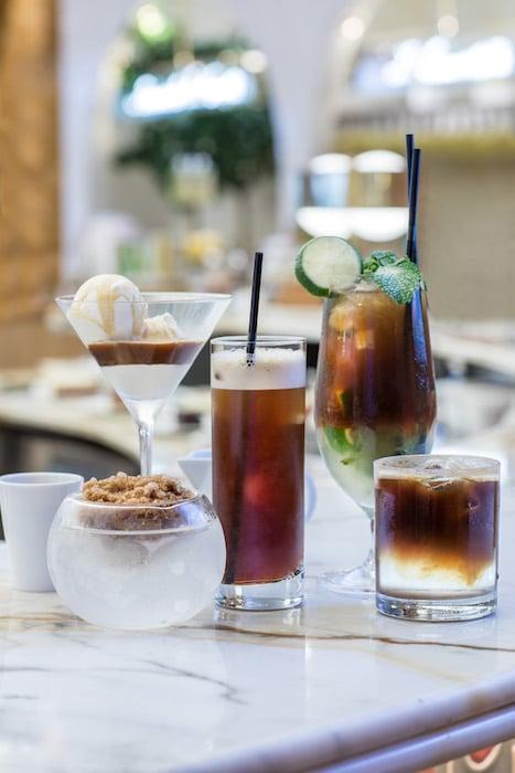 Carte cafés glacés