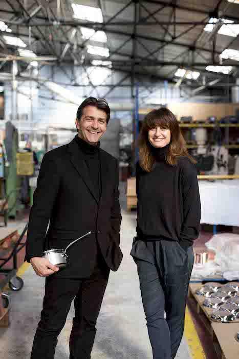 Yannick Alléno et Valérie Le Guern Gilbert