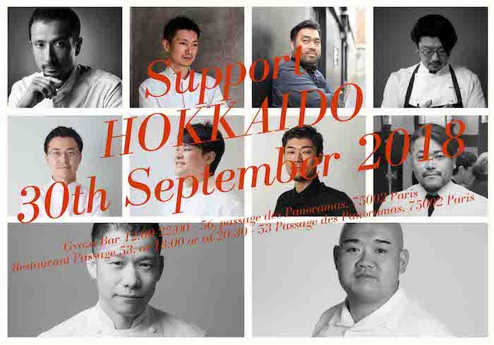 chefs japonais en cuisine pour Hokkaido