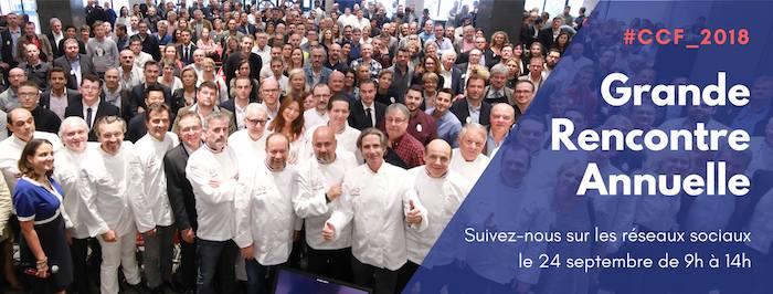 Rencontre Annuelle du Collège Culinaire de France