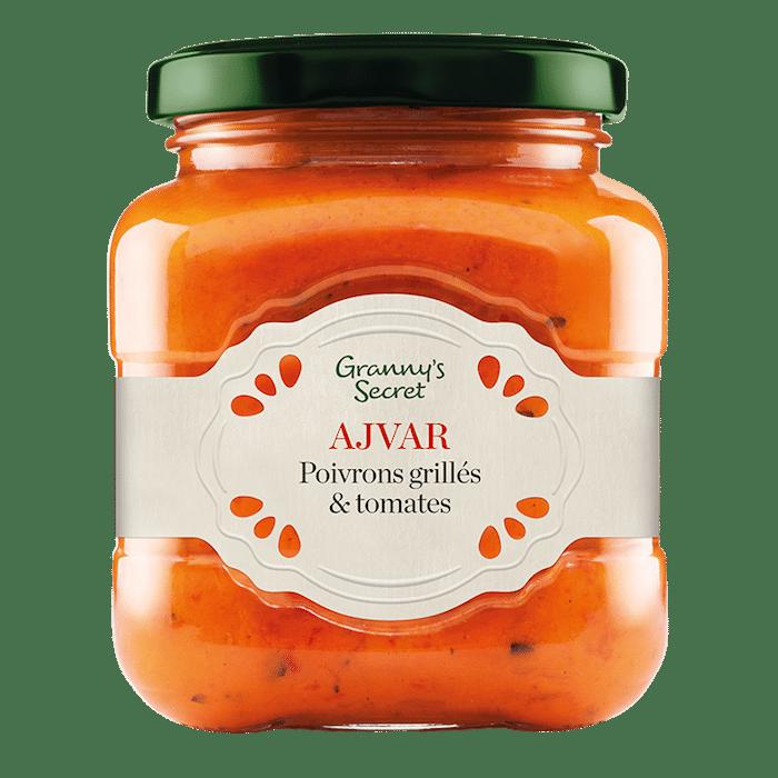 Ajvar poivrons tomates