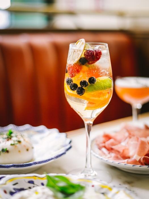 les cocktails La Bellezza
