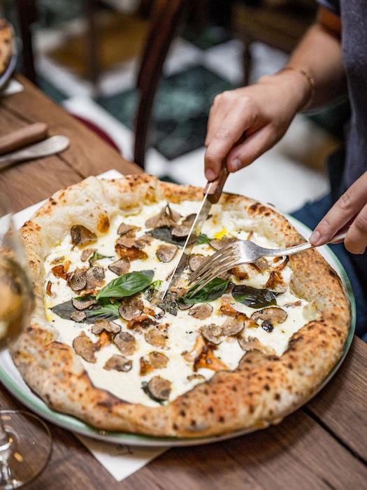 les pizzas La Bellezza