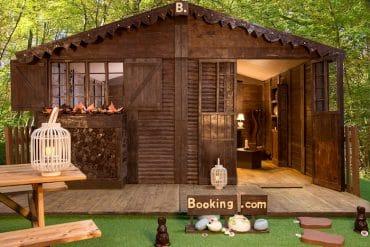 un cottage entièrement en chocolat