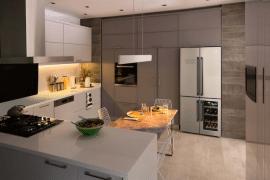 réfrigérateur avec cave à vin intégrée