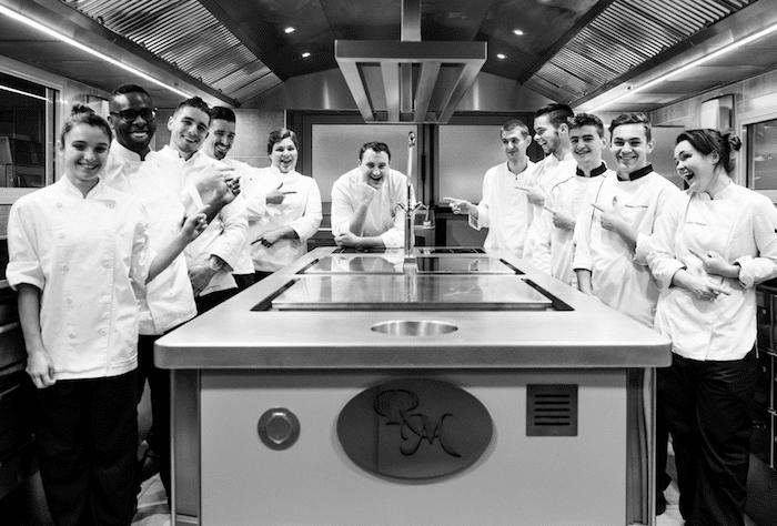 En cuisine avec Sébastien Sanjou