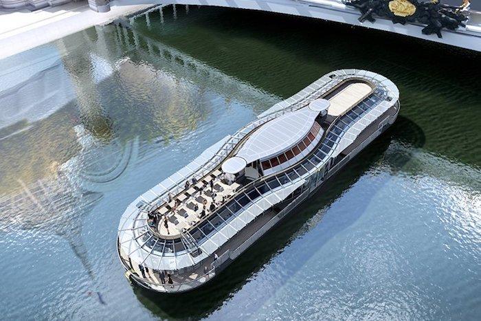 restaurant flottant Ducasse sur Seine