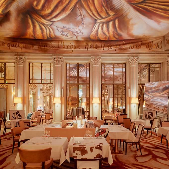 Le Meurice meilleur univers artistique d'hôtel en Europe