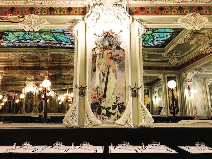 décor Art nouveau Bouillon Julien