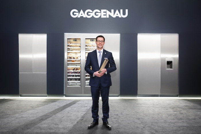 Mikaël Grou Gaggenau Sommelier Awards