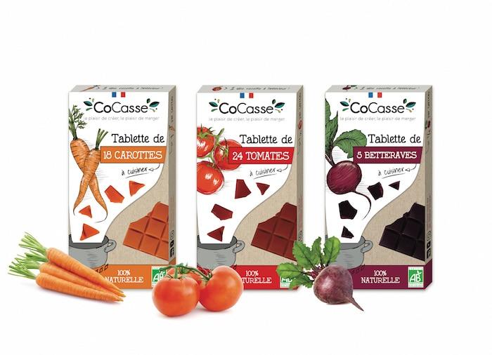 Tablettes de légumes Cocasse