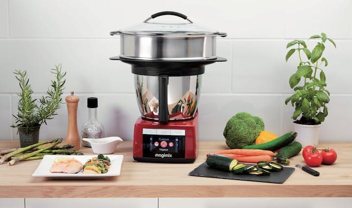 Le Cook Expert de Magimix avec panier vapeur