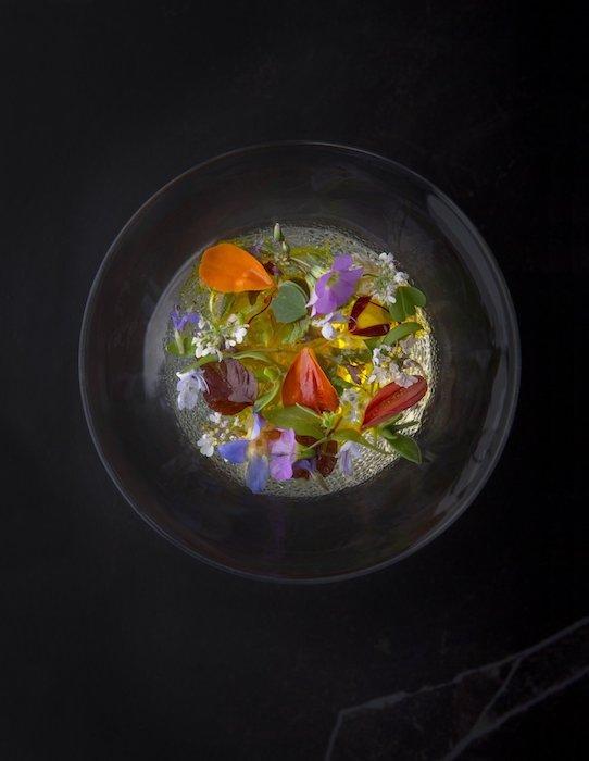 Gelée d'eau de tomate Mauro Colagreco