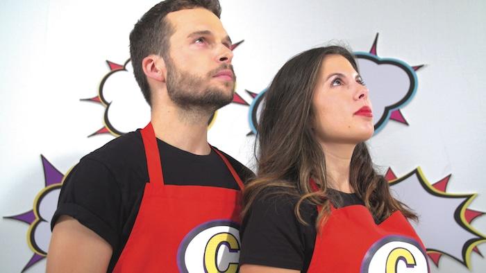 Kevin et Pauline créateurs de Cocasse