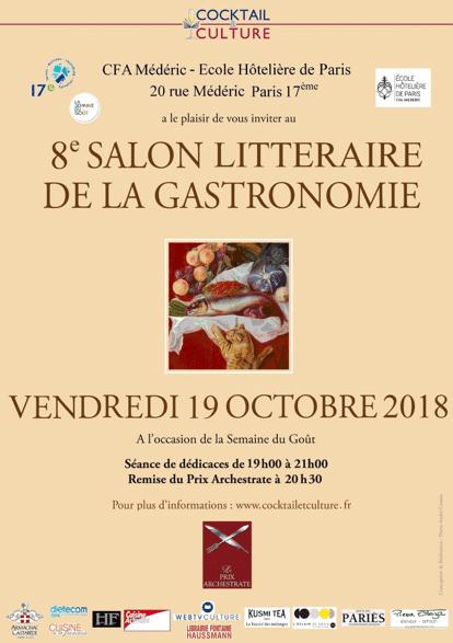 Salon Littéraire de la Gastronomie 2018