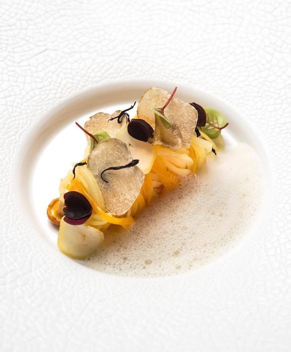 menu Yann Queffelec Taillevent