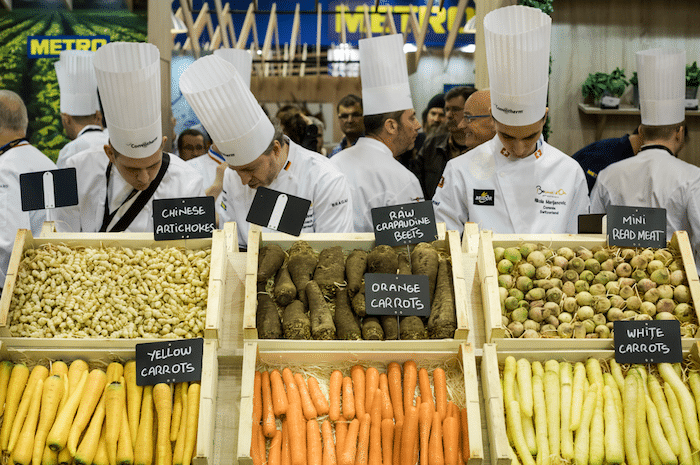 Composition de l'assiette Bocuse d'Or 2019
