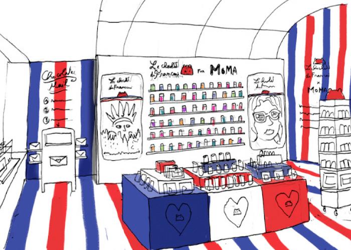 Le chocolat des Français au MoMA design store