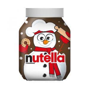 Nutella collector Noël