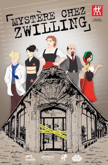 Mystère chez Zwilling