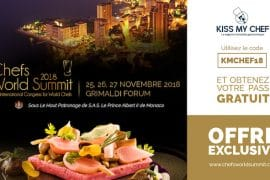 Chefs World Summit 2018