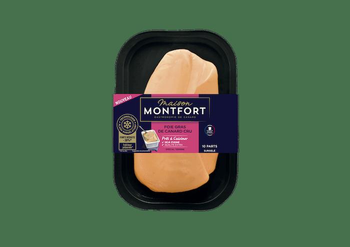 foie gras cru éveiné Montfort