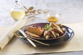 Foie gras rôti aux Rattes du Touquet